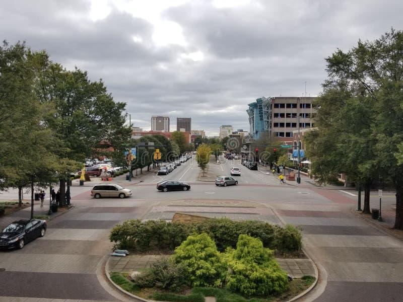 downtown immagini stock