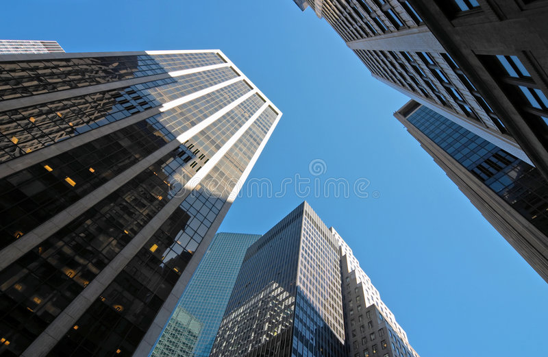 Downtown royalty free stock photo