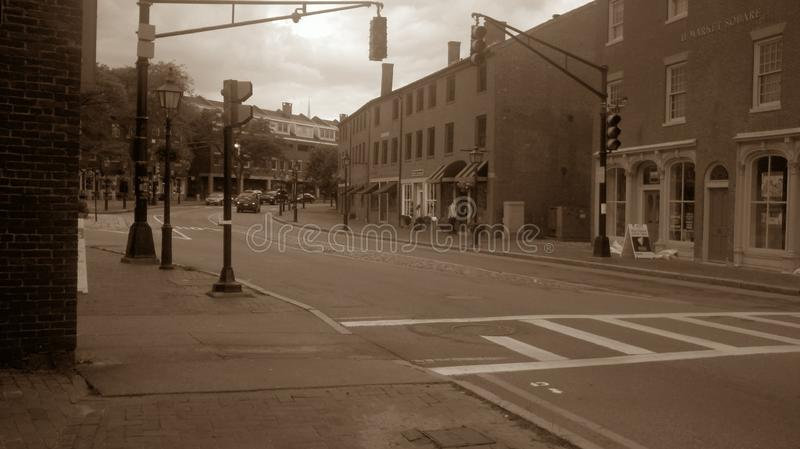 downtown immagine stock