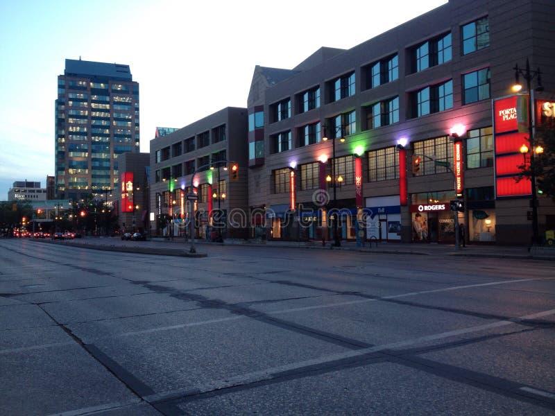 downtown royaltyfria bilder
