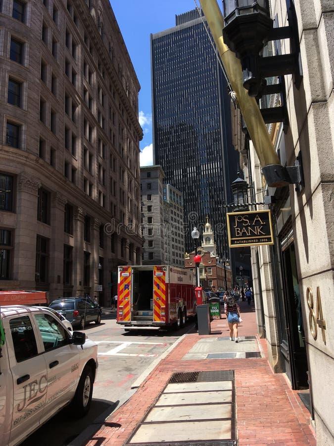 downtown fotografie stock