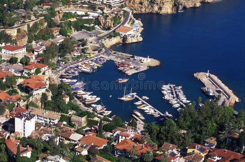 Downtown Antalya Turkey stock image