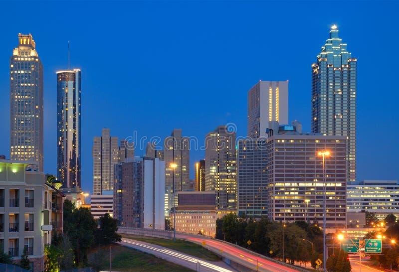 Downtown Atlanta Cityscape Royalty Free Stock Photography