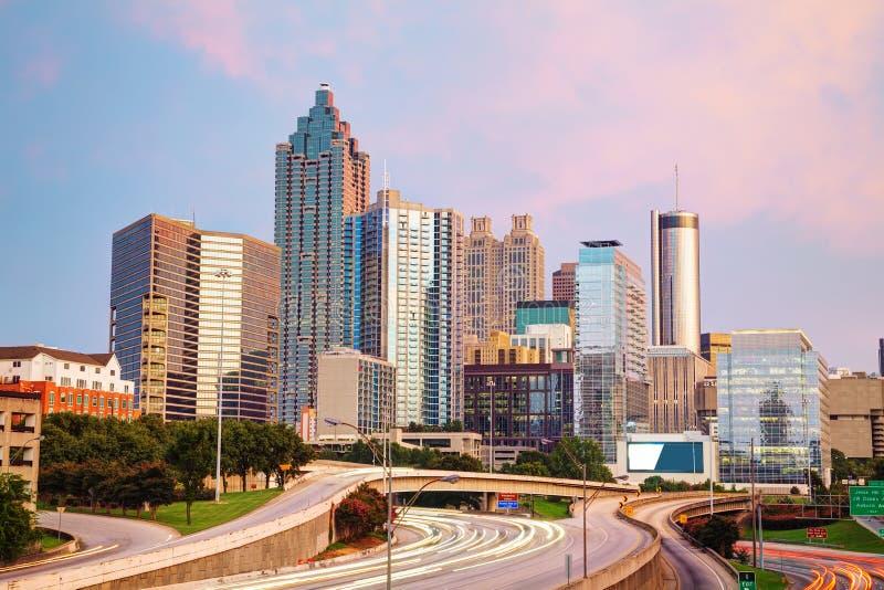 Downtown Atlanta, Georgia stock photos