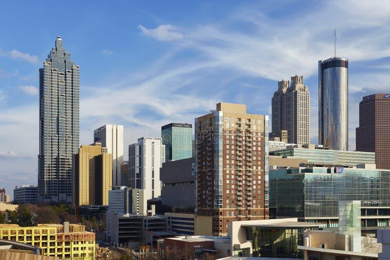 Downtown Atlanta, Georgia royalty free stock photography