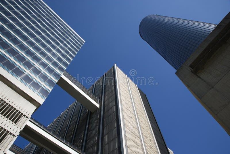 Downtown Atlanta Skyscrapers stock images