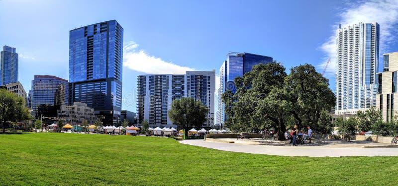 Downtown Austin Texas. Modern buildings in downtown Austin Texas royalty free stock photo