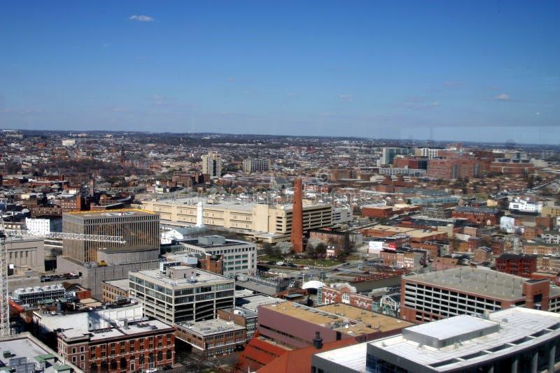 Downtown Baltimore royalty free stock photo