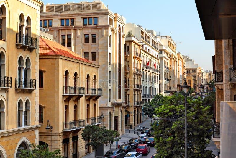 Downtown Beirut, Lebanon. Downtown Beirut, the souks, Lebanon stock photo