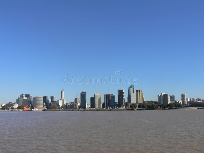 Download Downtown buenos aires stock photo. Image of cityscapes - 2322924