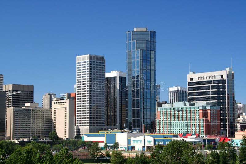 Downtown Calgary royalty free stock photos