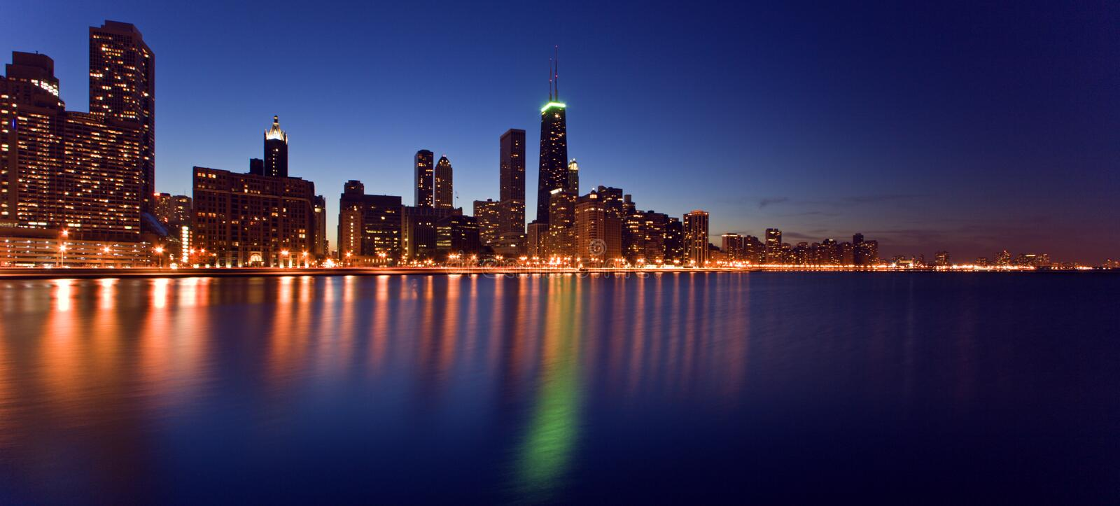 Download Downtown Chicago stock image. Image of magnificent, destinations - 2320073