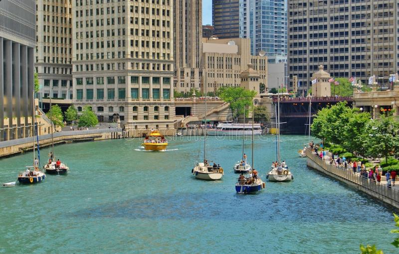 Download Downtown Chicago Waterfront, Illinois Stock Photo - Image: 30005104
