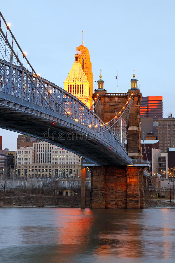 Free Downtown Cincinnati, Ohio. Stock Photos - 9870393