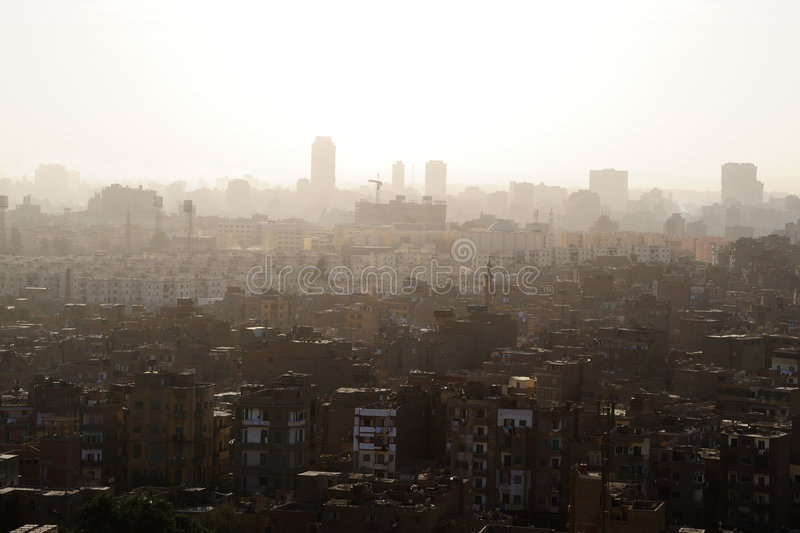 Downtown city of Cairo (Egypt)