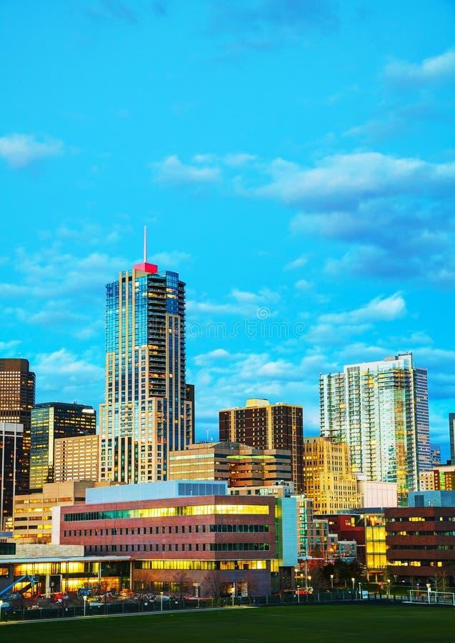 Downtown Denver, Colorado stock image