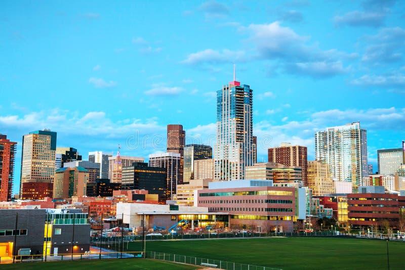 Downtown Denver, Colorado stock photos