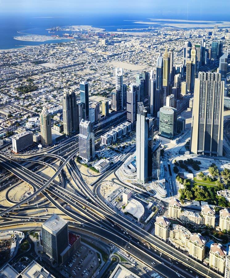 DOWNTOWN DUBAI royalty free stock photos