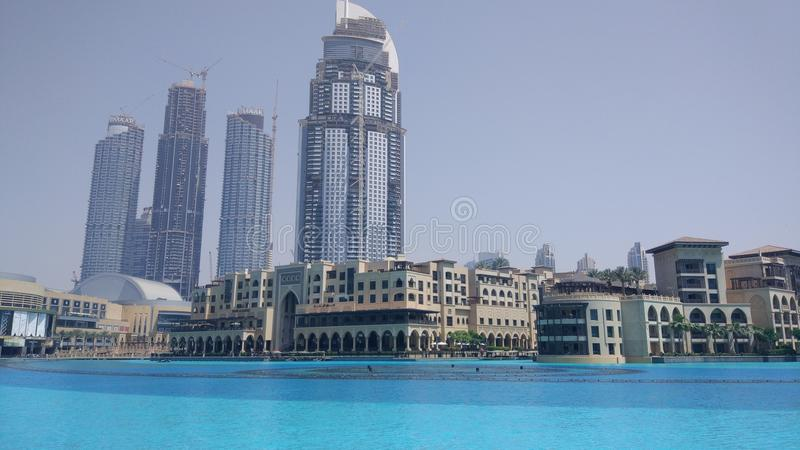 Downtown Dubai royalty free stock photo