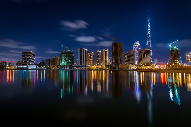 DownTown Dubai royalty free stock photography