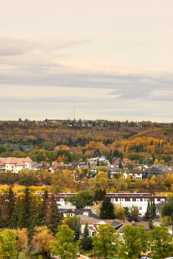 Downtown Edmonton royalty free stock photo