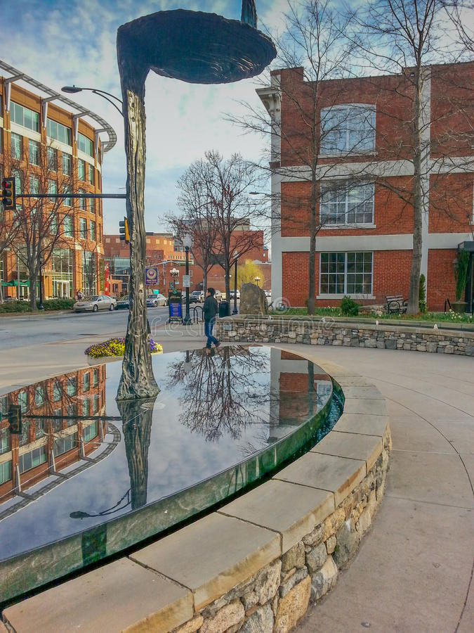 Download Downtown Greenville South Carolina SC Editorial Stock Photo - Image: 41424453