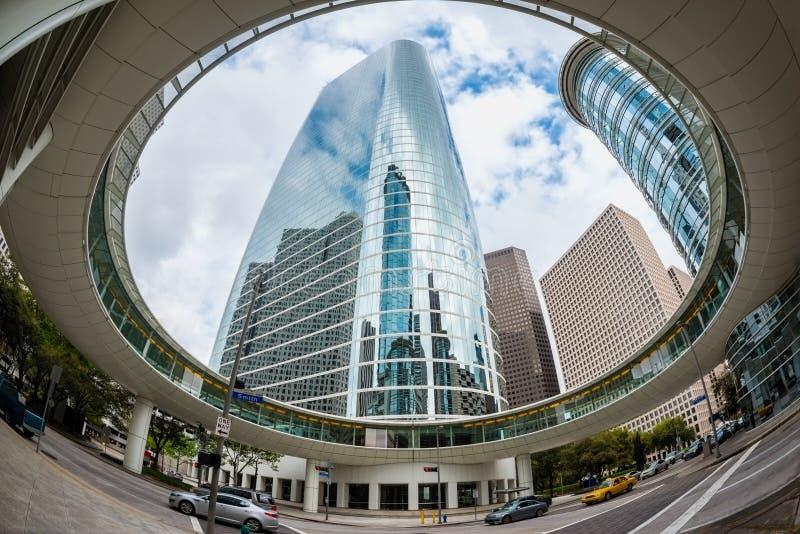 Downtown Houston Texas stock photos