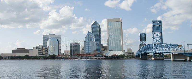 Downtown Jacksonville Florida stock photo