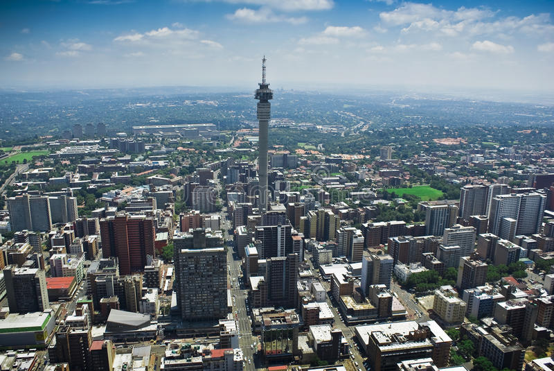 Downtown Johannesburg stock images