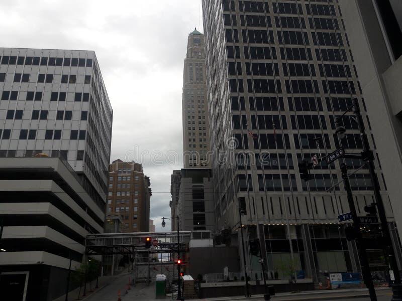 Downtown Kansas City stock photography