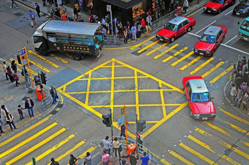 Downtown kowloon, hong kong royalty free stock photo
