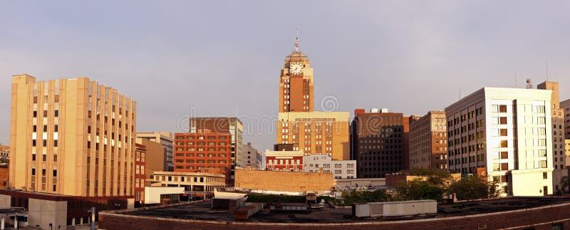 Downtown Lansing. Downtown of Lansing, Michigan, USA stock images