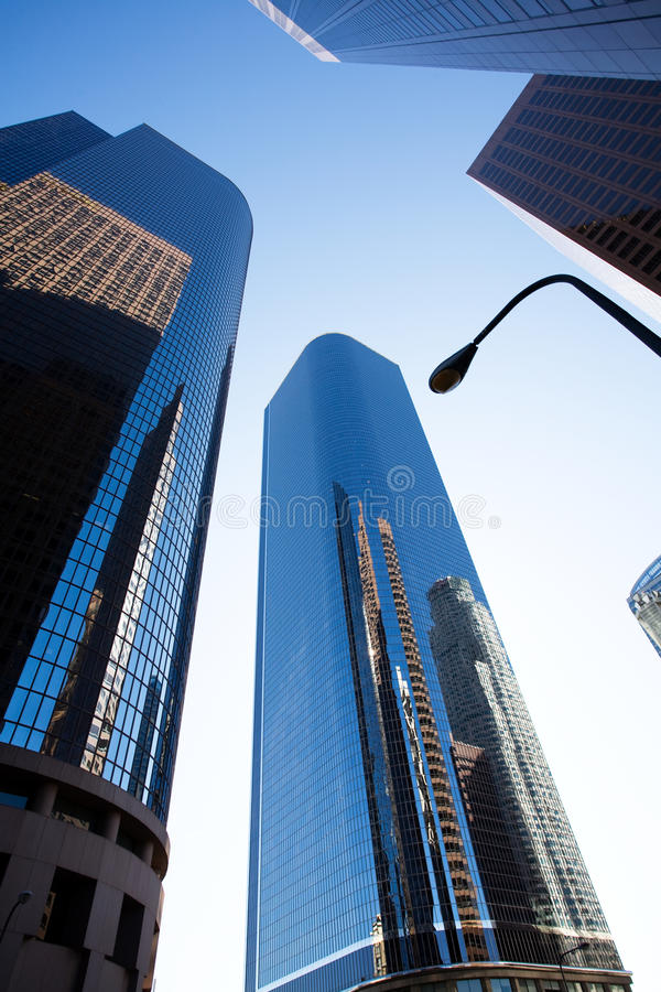 Download Downtown Los Angeles stock photo. Image of tall, angeles - 10151880