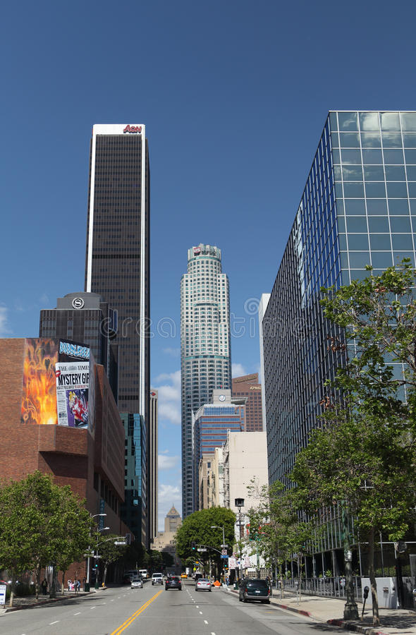 Free Downtown Los Angeles Royalty Free Stock Photo - 24332645