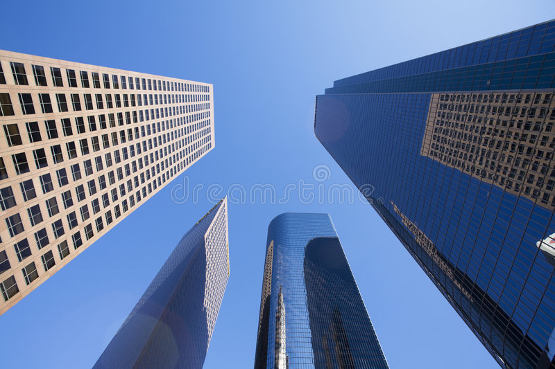 Download Downtown Los Angeles Stock Photo - Image: 9324120