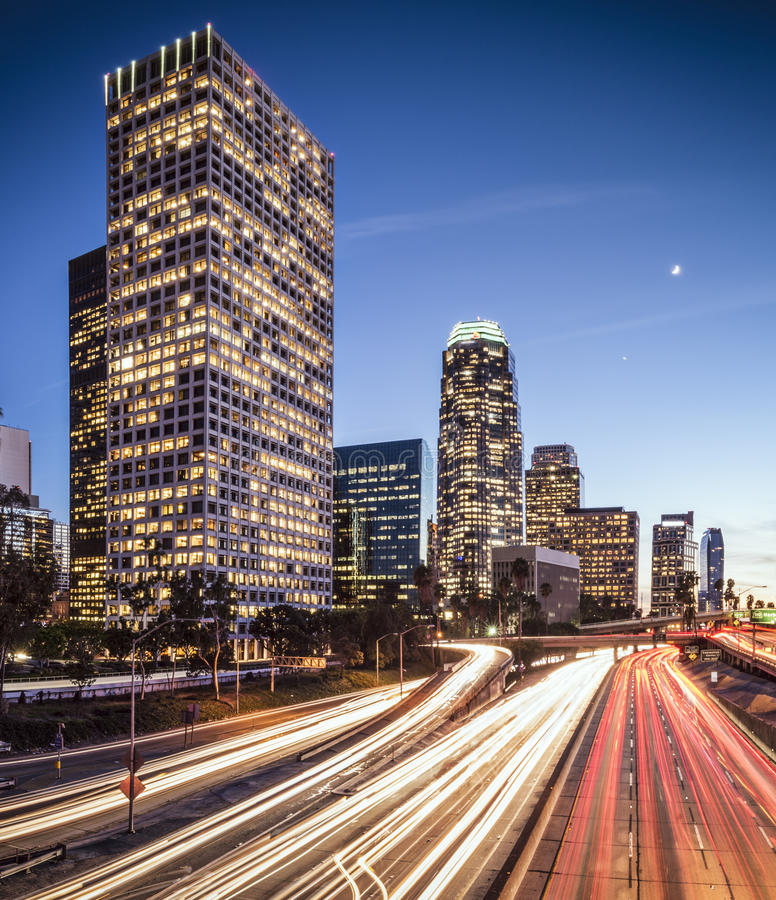 Downtown Los Angeles Royalty Free Stock Photography