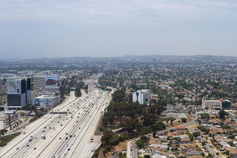 Downtown Los Angles, California royalty free stock photography