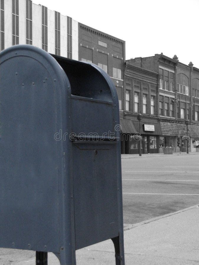 Download Downtown Mailbox Stock Photography - Image: 2924792