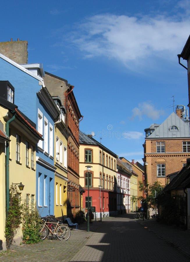 Downtown Malmoe royalty free stock photos