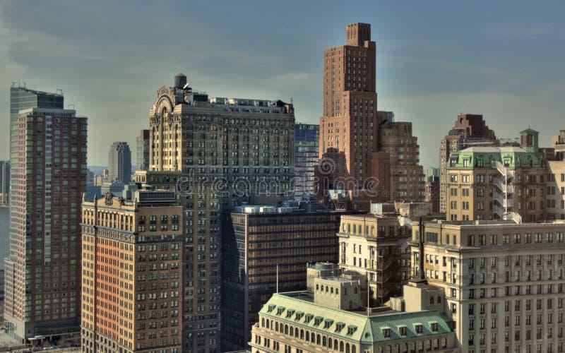 Downtown Manhattan. New York City stock photos
