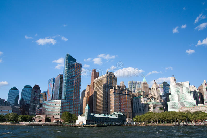 Downtown Manhattan royalty free stock images