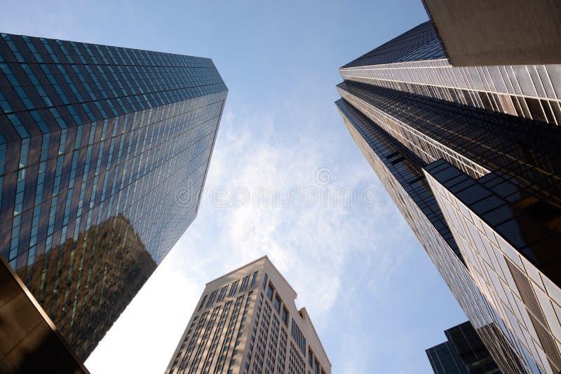 Downtown Manhattan royalty free stock photos