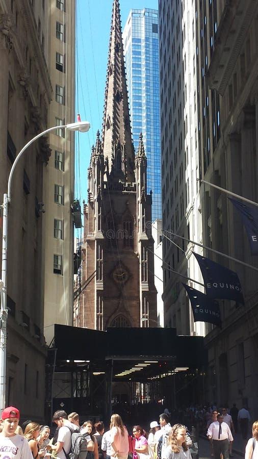 Downtown Manhattan New York stock photo