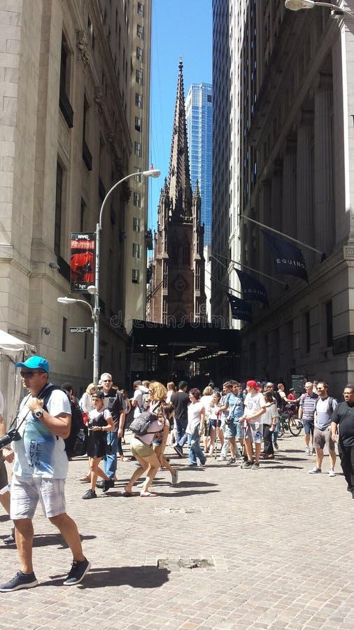 Downtown Manhattan New York royalty free stock photography