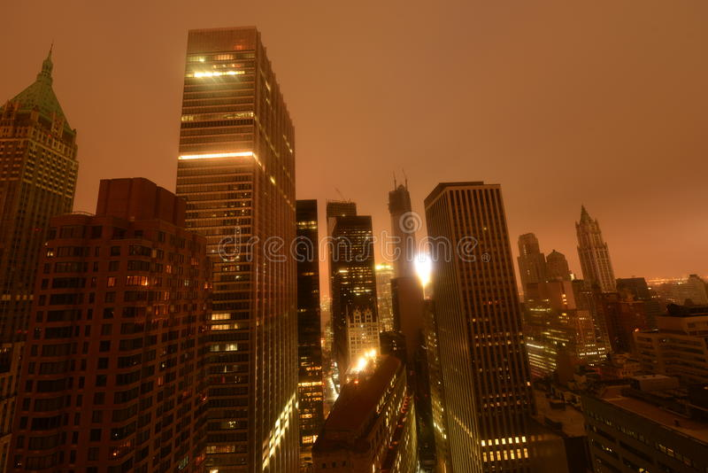 Download Downtown Manhattan Power Outage Due To Sandy Editorial Photo - Image: 27414381