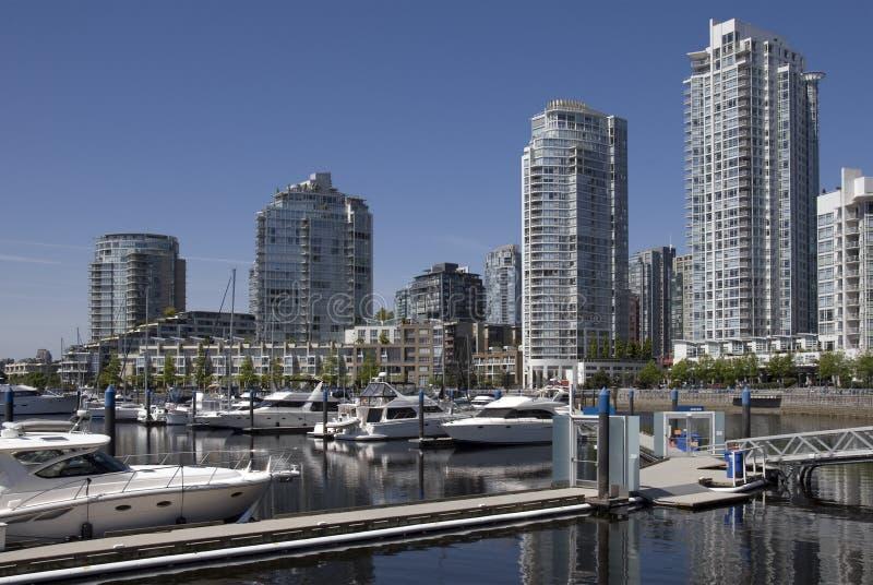 Downtown Marina stock image