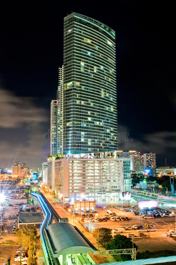 Download Downtown Miami stock image. Image of downtown, modern - 13684889