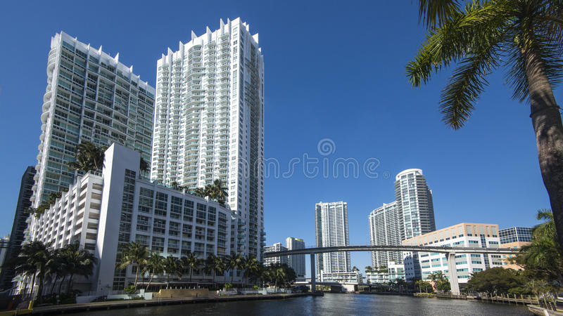 Downtown Miami stock images