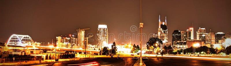 Downtown Nashville stock photos
