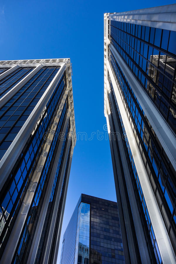 Free Downtown Office Buildings Stock Images - 46416754